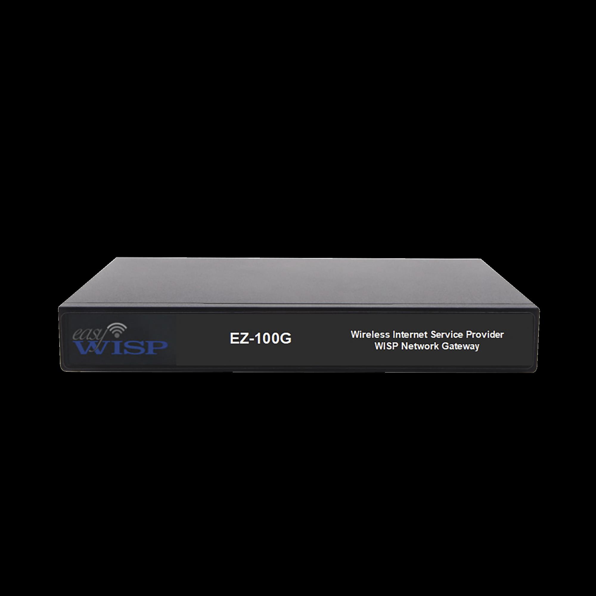 Sistema de administración integral de WISP con un rendimiento hasta 100Mb/s
