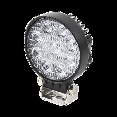 Luz de trabajo ultrabrillante, 9 LED, 1500 lumen, 12-24 VCD