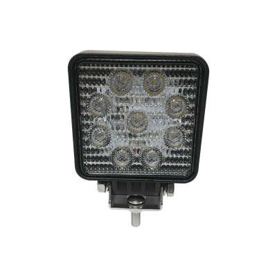 Luz de trabajo ultra brillante, 9 LED, 1500 lumen, 12-24 VCD