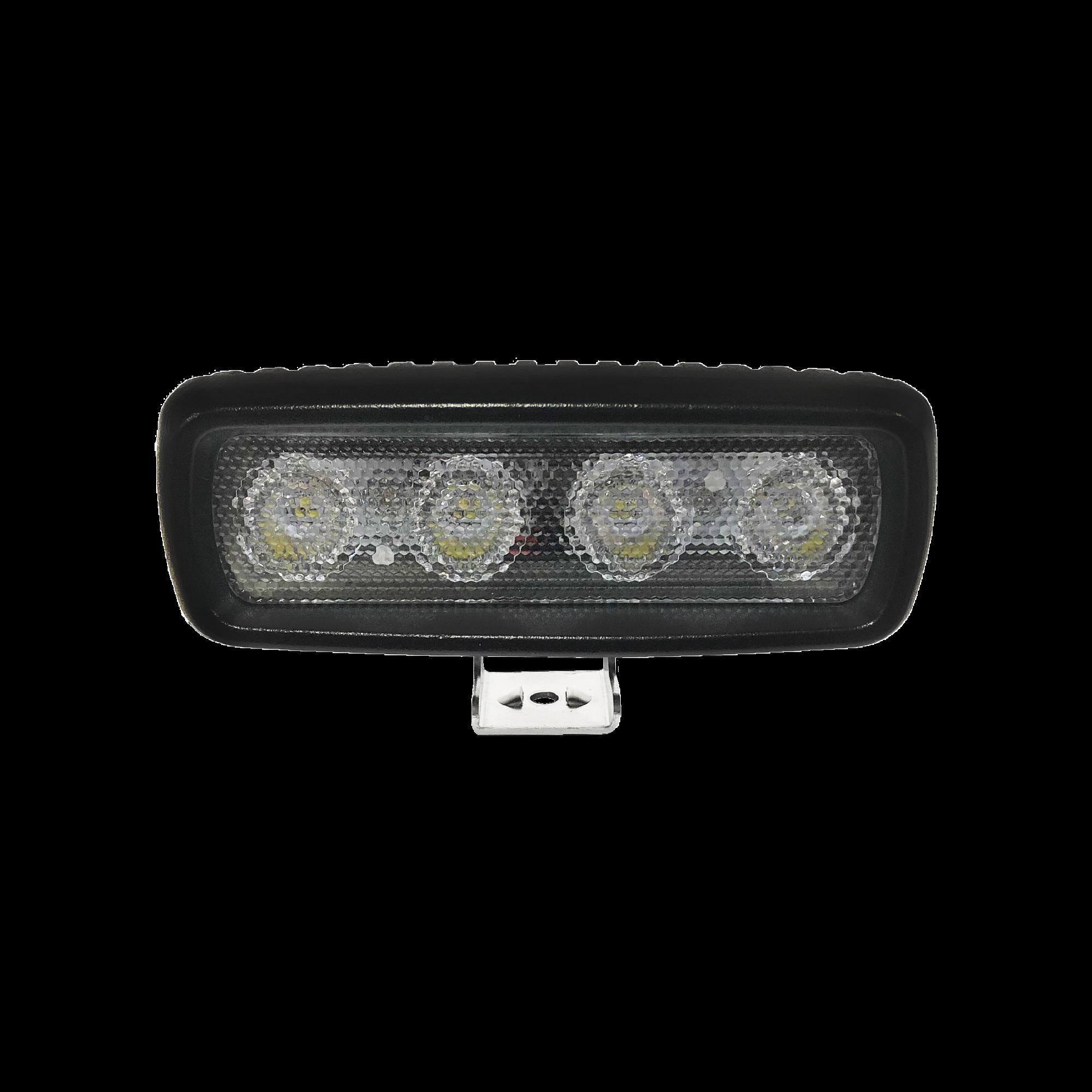 Luz de trabajo ultrabrillante, 4 LED, 1000 lumen, 12-24 VCD