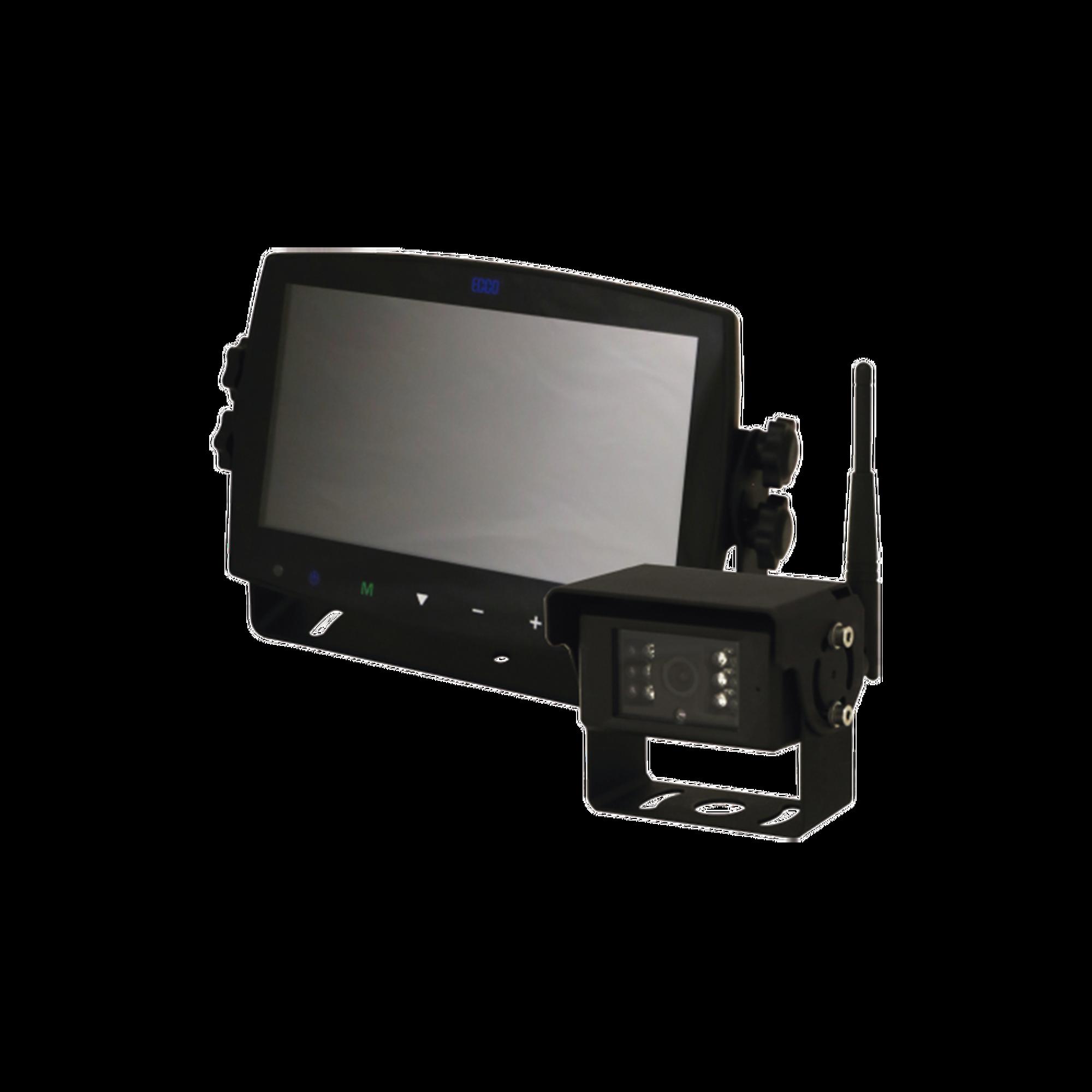 Sistema inlambrico con camara infraroja y monitor de 7 tactil