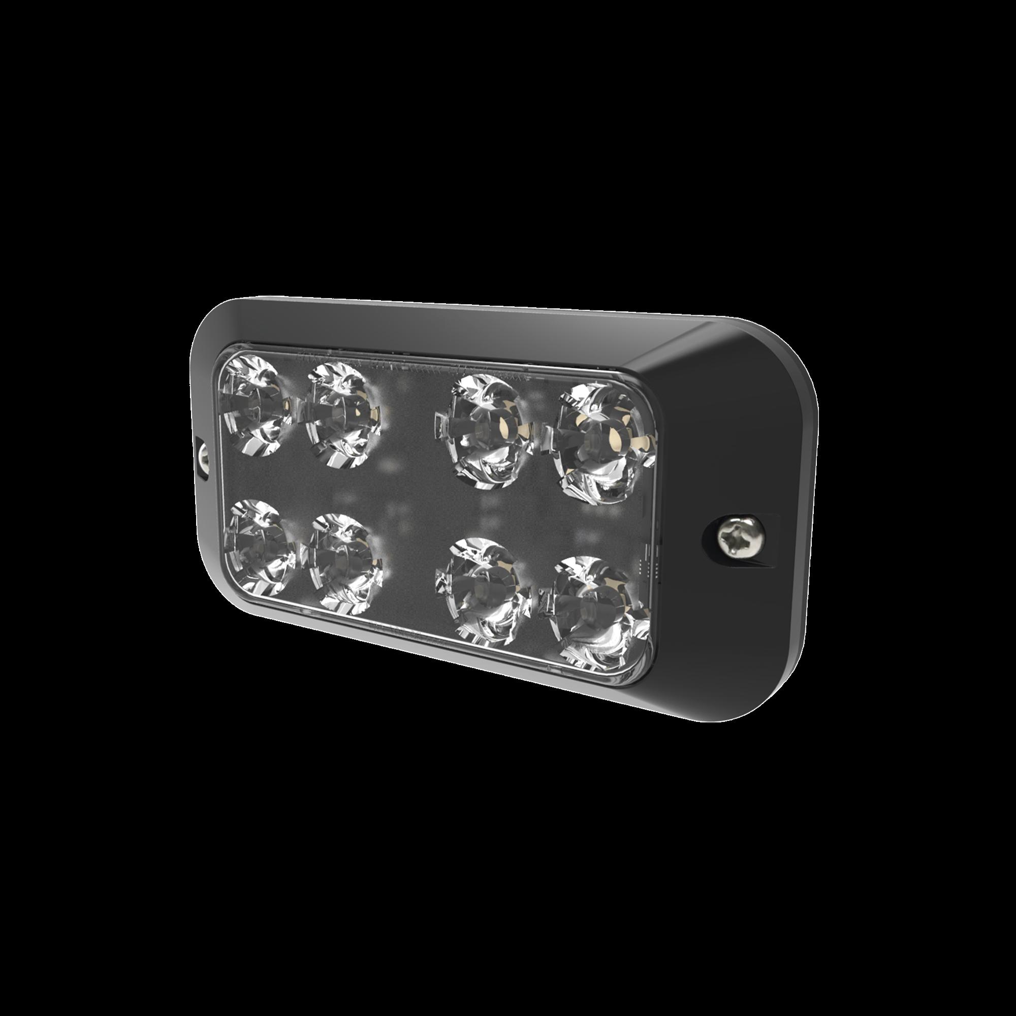 Luz auxiliar con 8 LEDs color rojo-claro