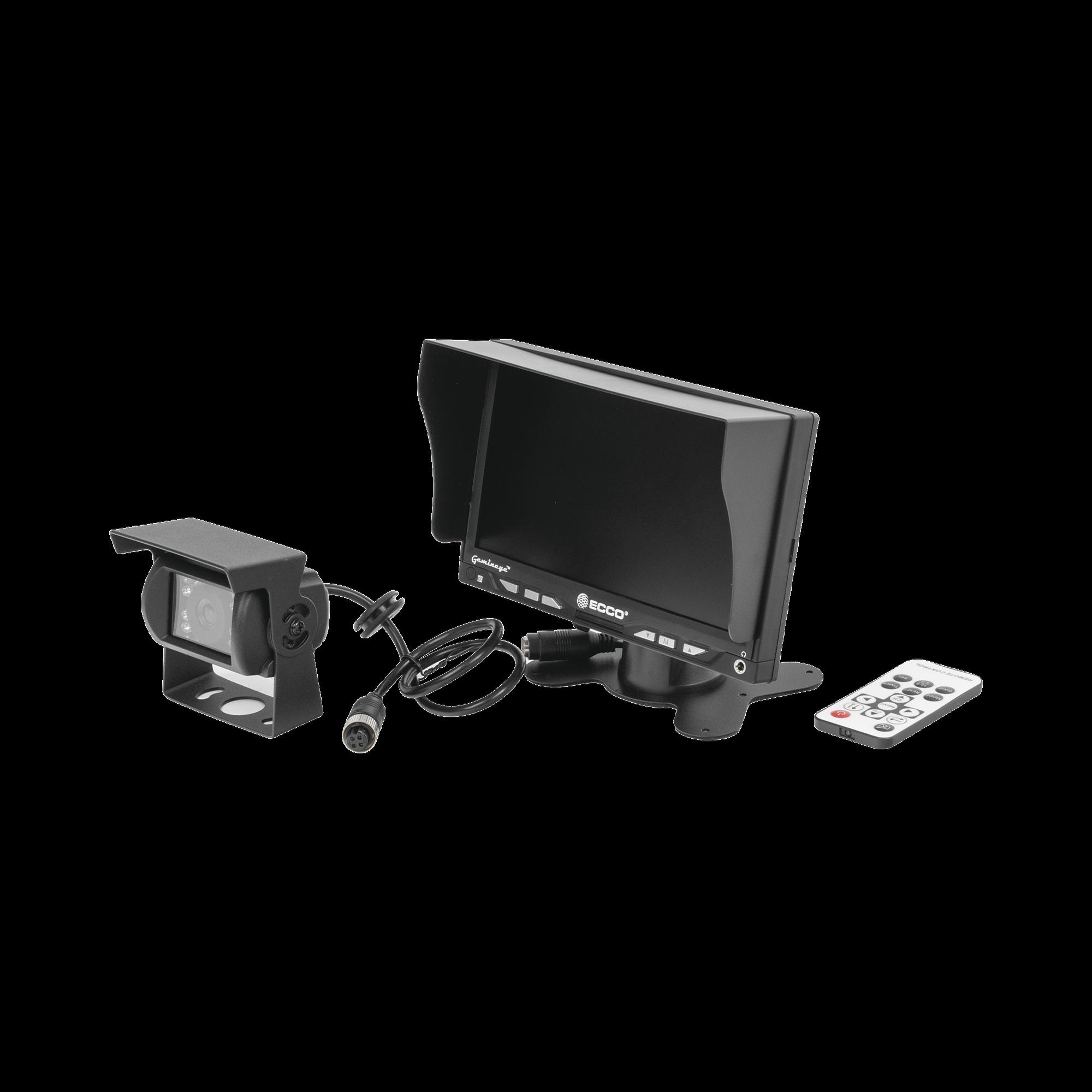 Kit basico de monitor y camara para montacargas