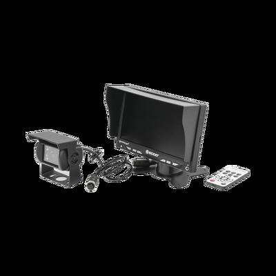 Kit básico de monitor y cámara para montacargas