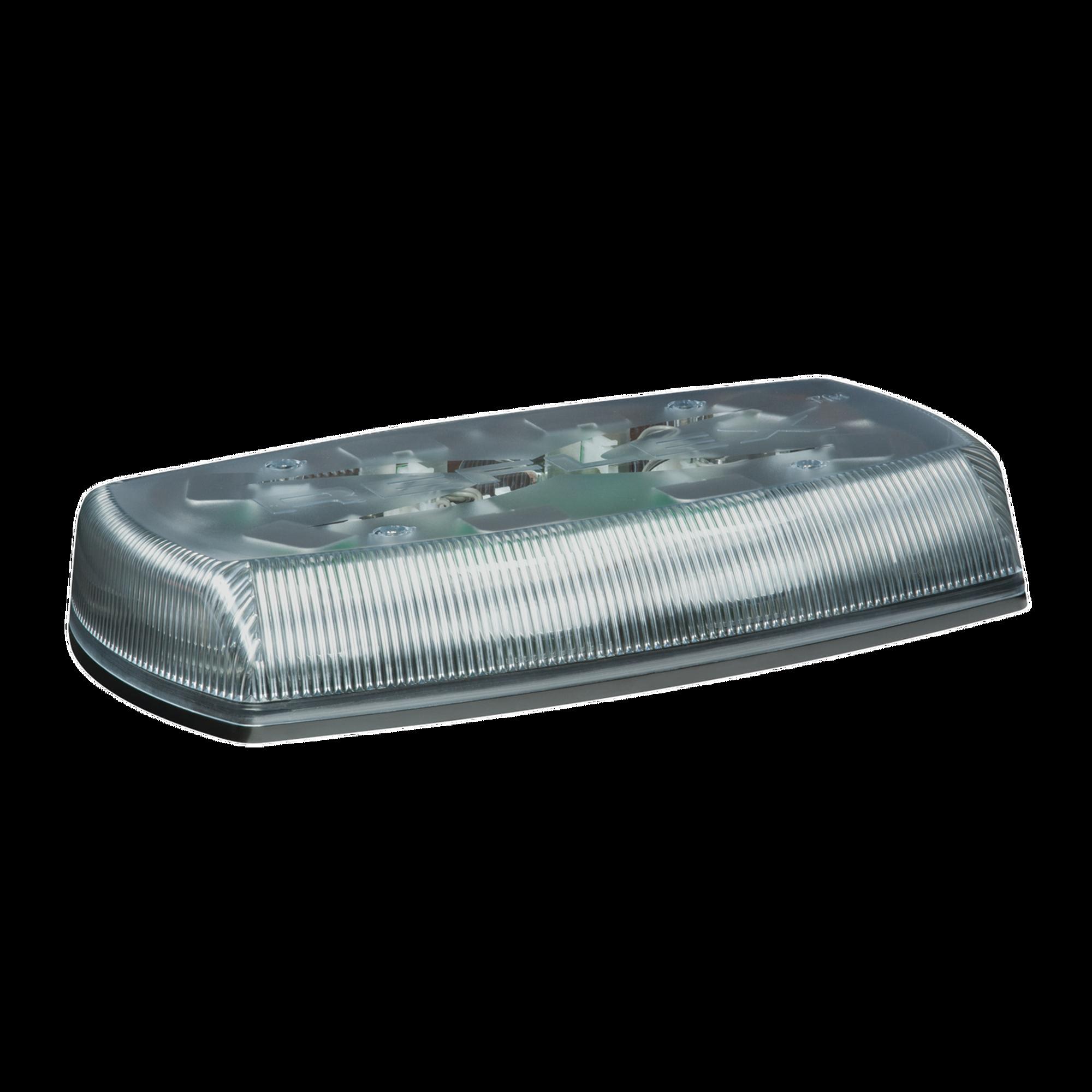Mini Barra de Luces Ultra Brillante, color domo claro, LED ambar, Ideal para Seguridad Privada