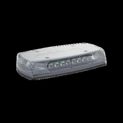 Mini Barra de Luces Ultra Brillante, color domo claro, LED azul, Ideal para Seguridad Privada