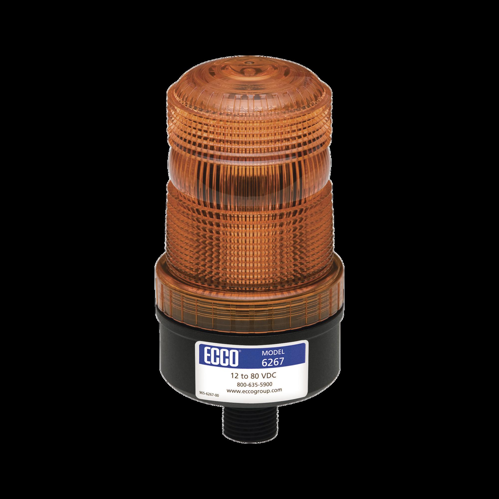 Mini baliza de LED color ambar montaje permanente SAE Clase III