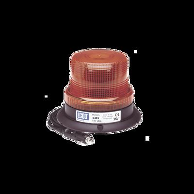 Mini Burbuja Led color Ámbar Serie X6465 con montaje de succión magnetico