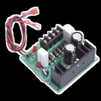 Fuente de poder 6VCD, 12VCD o 24VCD con respaldo de batería.