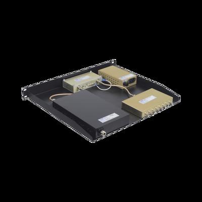 Multiacoplador y Preselector EMR, 440-512 MHz, 8 Canales, 3-10 MHz, 1 UR / Rack 19 in, N Hembras.