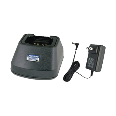 Cargador rápido de escritorio para radios Motorola EP350 y para batería PMNN4080R/4080LIXT