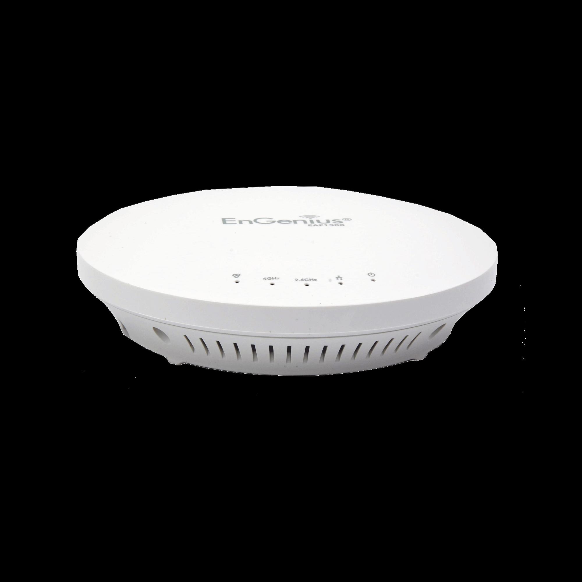 Punto de Acceso WiFi ac para Interior MU-MIMO 2x2, Hasta 1267 Mbps de Largo Alcance, Doble Banda en 2.4 y 5 GHz, 300+ Usuarios Simultáneos, Soporta PoE  802.3af