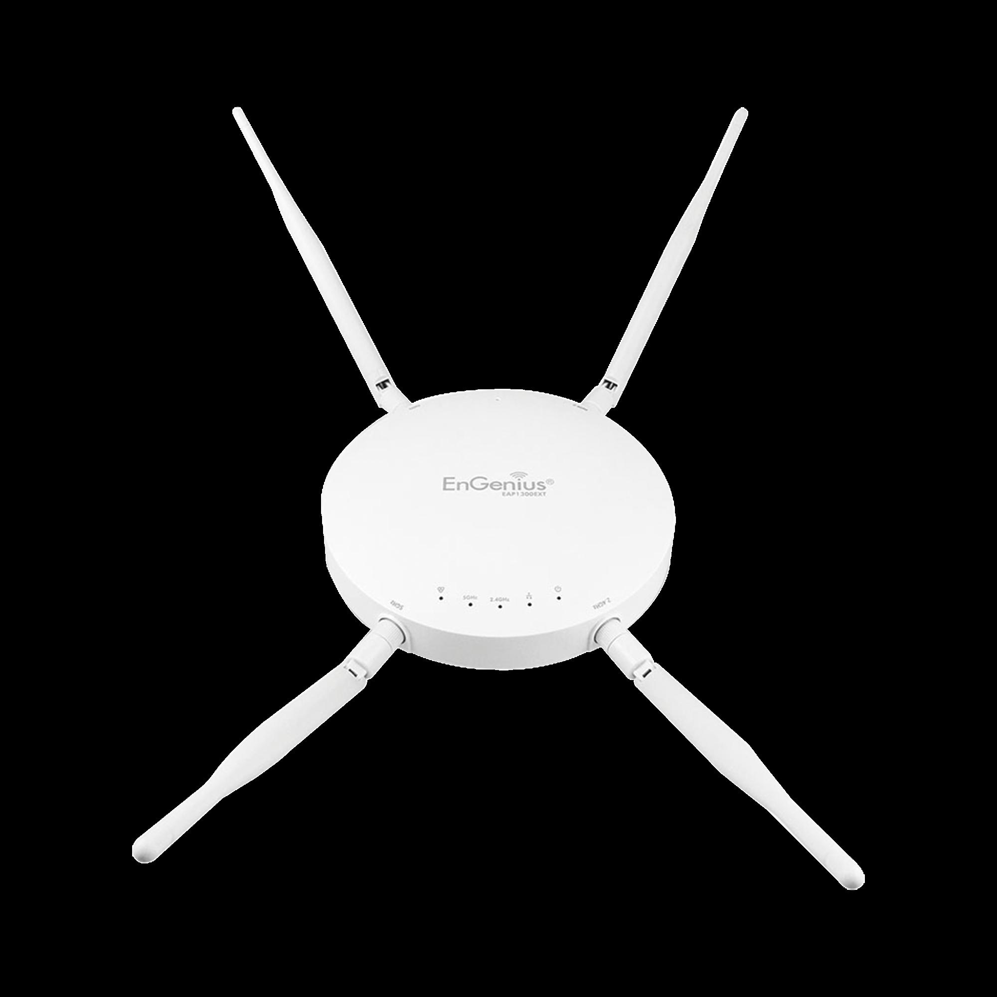 Punto de Acceso WiFi MU-MIMO 2x2 para Interior, Doble Banda en 5 y 2 GHz, Hasta 1267 Mbps, 250+ Usuarios Simultaneos, Antenas de Alta Ganancia Removibles