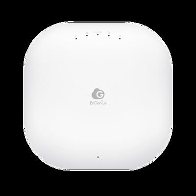 Punto de Acceso Wi-Fi para Interior MU-MIMO 2x2 con Administración en Nube, 867Mbps en 5 GHz y 400 Mbps en 2.4 GHz, Hasta 250 Usuarios concurrentes, Soporta PoE 802.3af