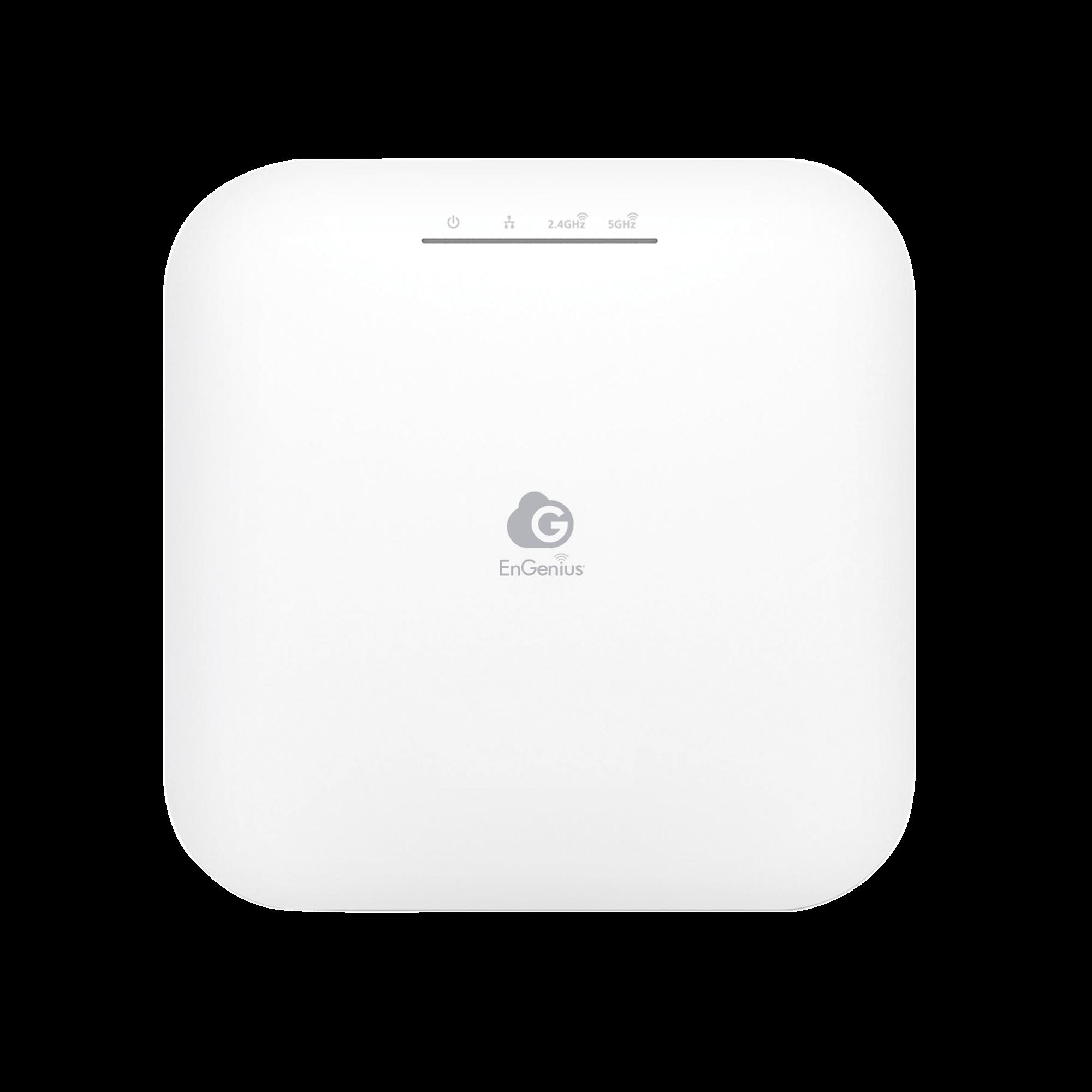 Punto de Acceso Wi-Fi 6 para Interior 2X2, Administración en Nube, Para Gran Capacidad de Usuarios,  Hasta 1,200 Mbps (5GHz) y 574 Mbps (2.4GHz), Modo Mesh,Soporta PoE 802.3af