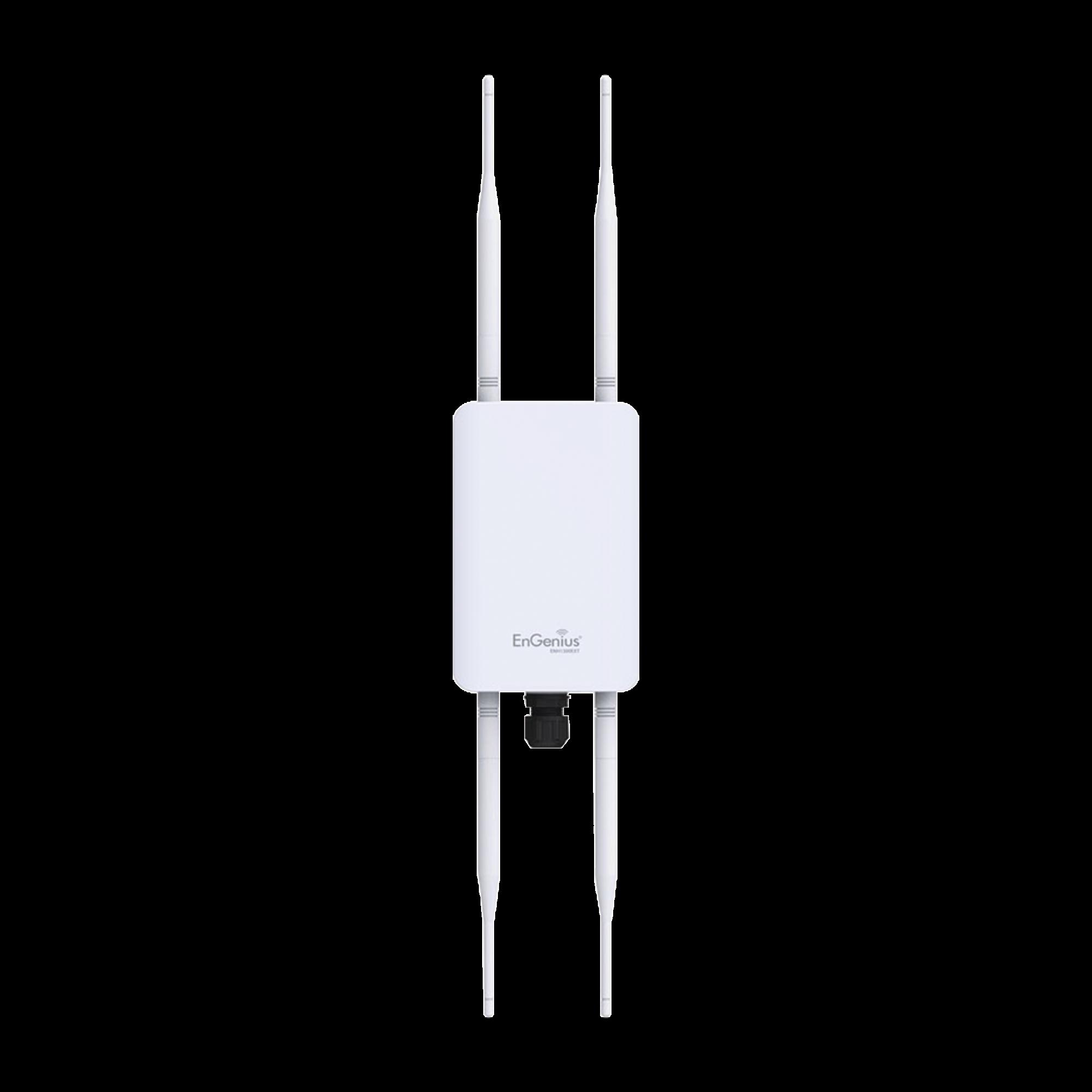 Punto de Acceso WiFi para Exterior, MU-MIMO 2x2, Doble Banda 2.4 y 5 GHz, Hasta 1267 Mbps, Grado de Proteccion IP67, 250+ Usuarios Simultáneos