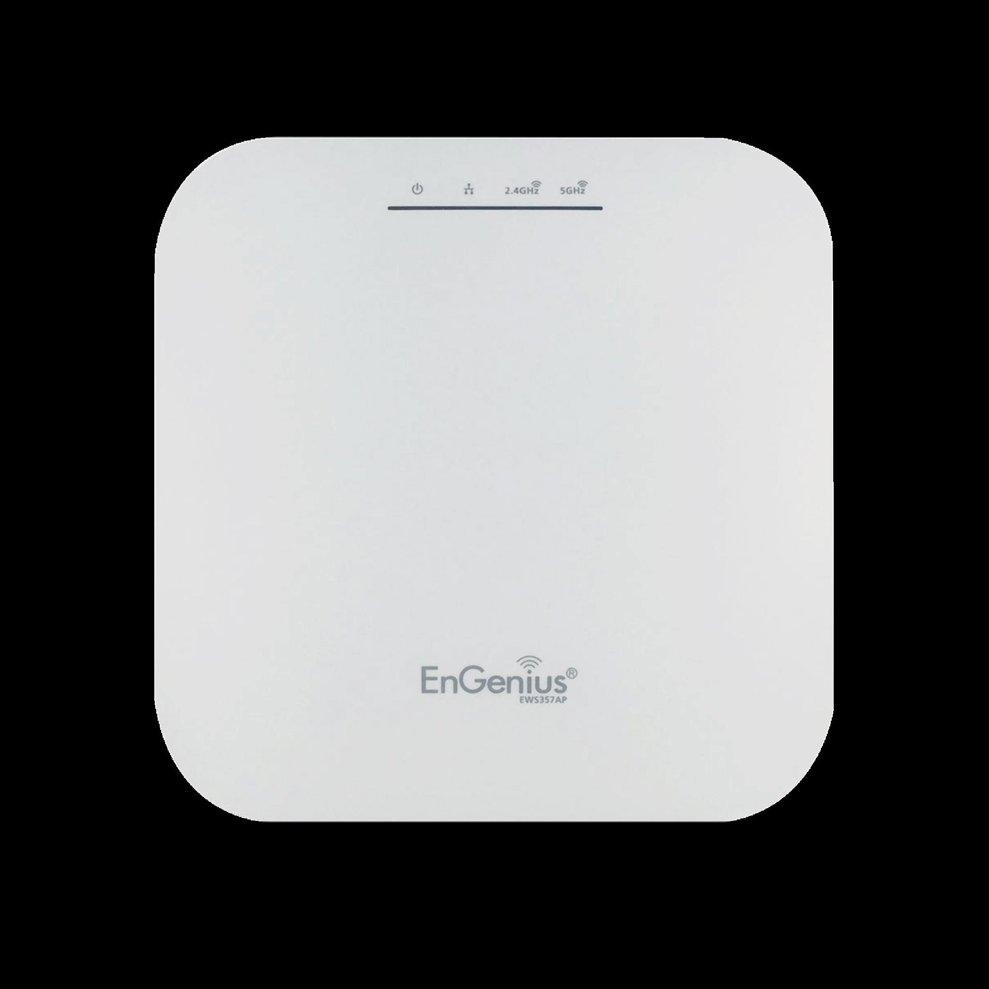 Punto de Acceso WiFi 6, 4x4 para Gran Capacidad de Usuarios, Modo Mesh, Hasta 2,400 Mbps (5 GHz) y 1,148 Mbps (2.4 GHz), Soporta PoE 802.3at