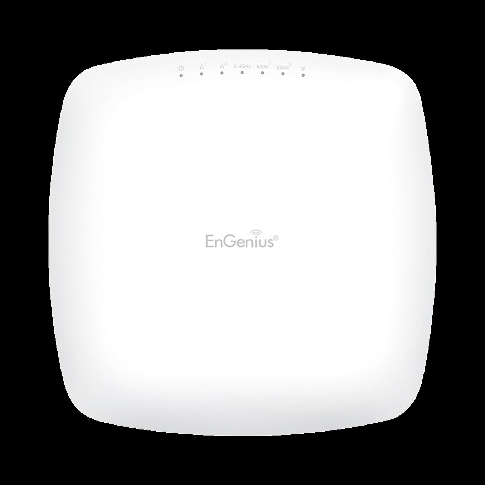 Punto de Acceso y Repetidor WiFi, Hasta 2.2 Gbps, MU-MIMO, Tres Radios Simultáneos(2.4/5/5 GHz),+400 Usuarios Simultáneos, Hasta 400 Mbps en 2.4 GHz y 867 Mbps por radio en 5 GHz