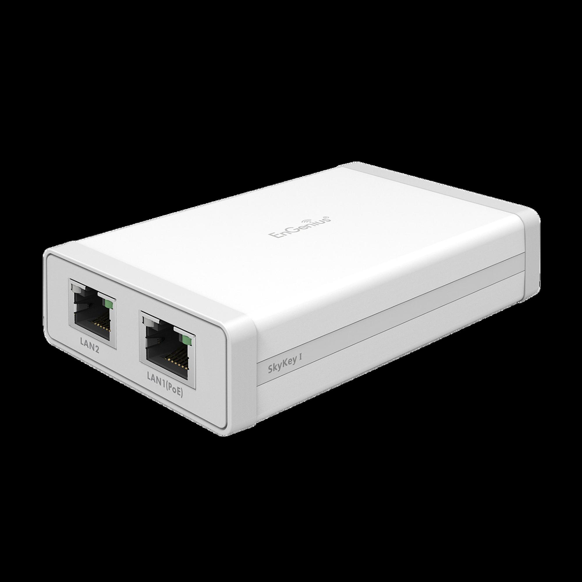 Controlador de red local con gestión en la nube/ Soporta hasta 100 puntos de Acceso EnGenius/ Soporta PoE 802.3 af/ Plataforma ezMaster integrada