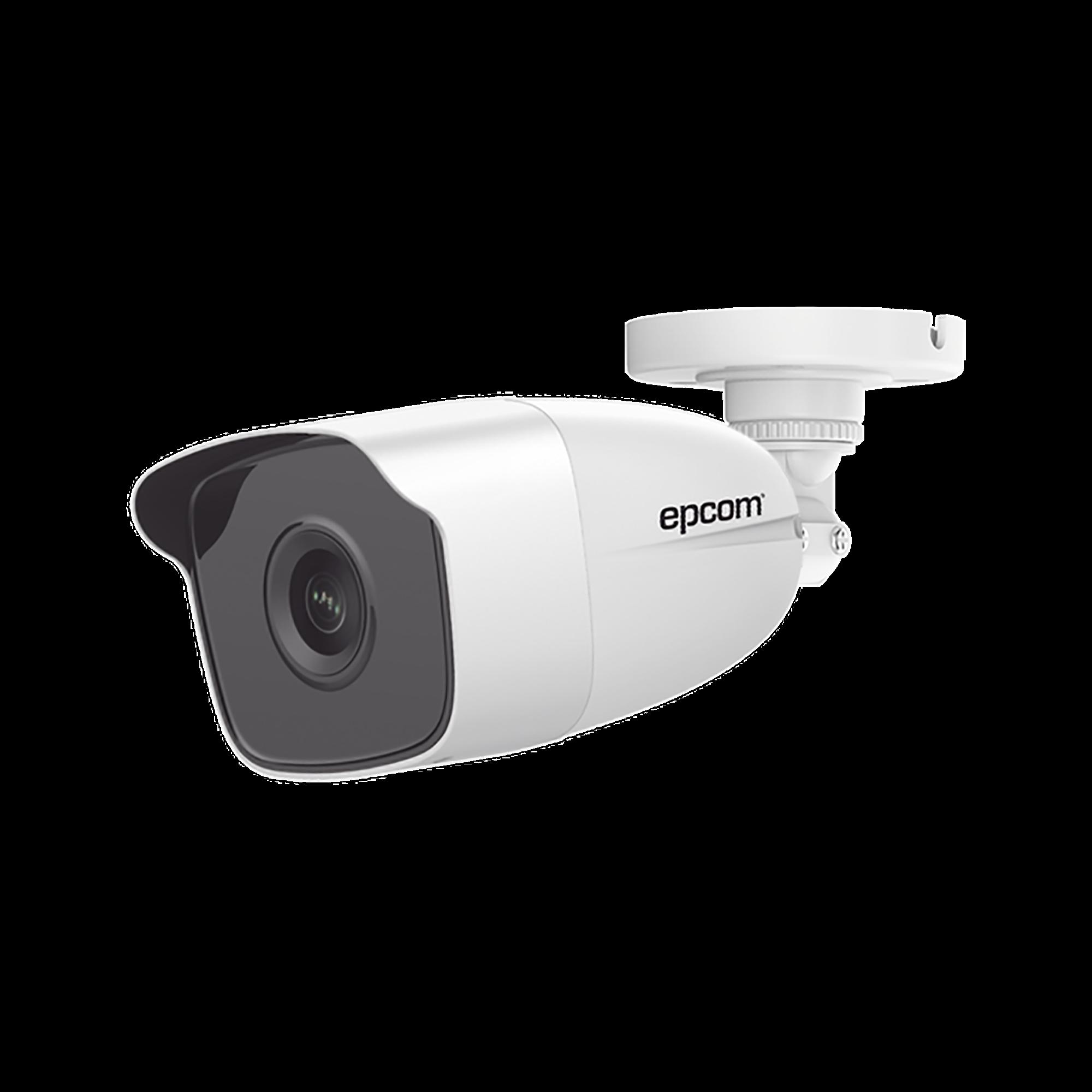 Bala TURBOHD 1080p / Lente 2.8 mm  / 50 mts IR EXIR / Exterior IP66 / Ultra Baja Iluminación  / METAL / 4 Tecnologías / WDR 120 dB