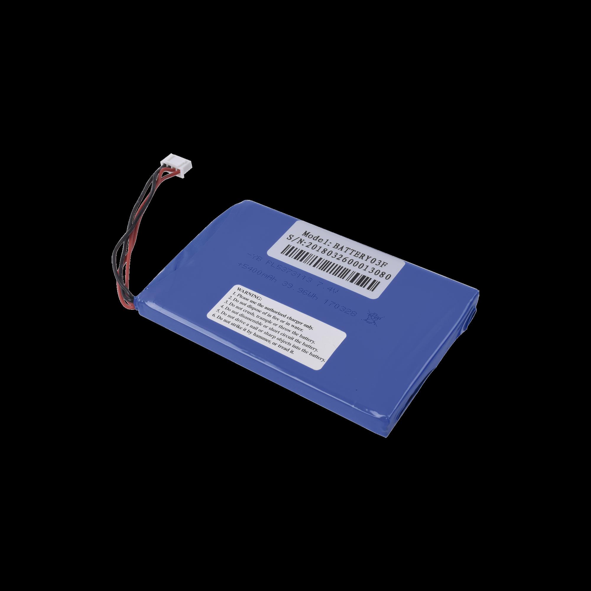 Batería para probador modelo TPTURBOHD