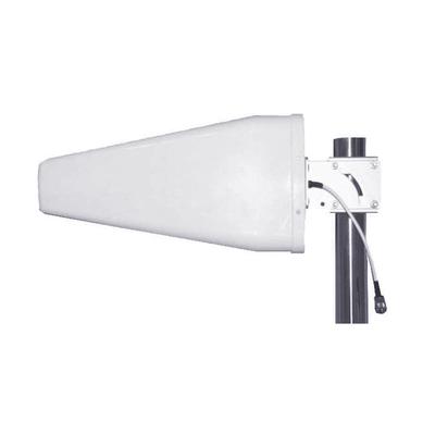 Antena direccional logarítmica de 11 dBi de ganancia. Especial para cualquier dispositivo celular. Amplio rango de frecuencias 698-960 MHz / 1710-2700 MHz