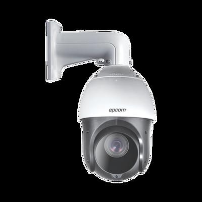 Domo PTZ TurboHD 2 Megapixeles (1080P) / 15X Zoom / 100 mts IR EXIR / Exterior IP66 / WDR 120 dB / RS-485 / Ultra Baja Iluminación