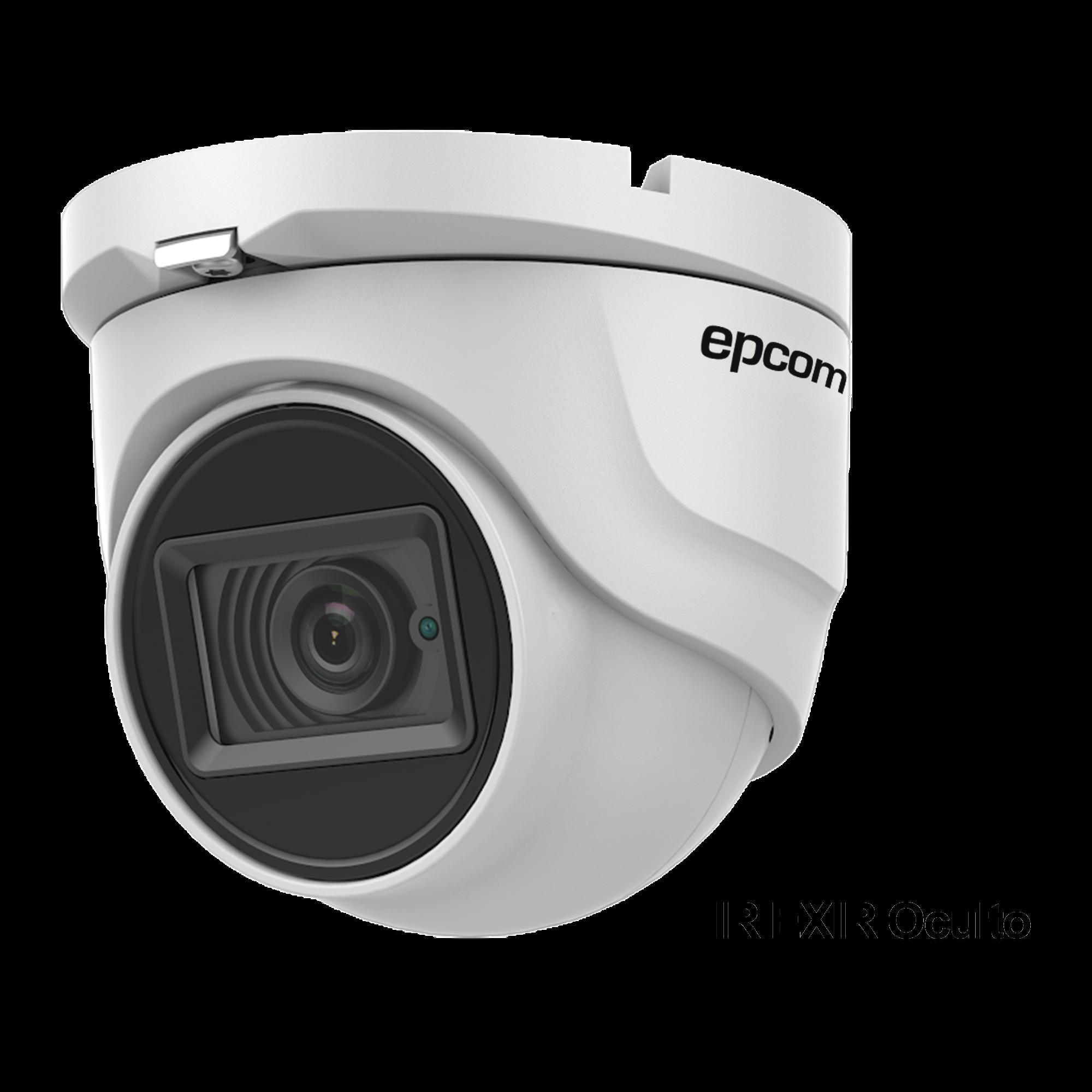 Eyeball TURBOHD 4K (8Megapixeles) / Gran Angular 102? / Lente 2.8 mm / Exterior IP67/ IR EXIR 30 mts / dWDR / TVI-AHD-CVI-CVBS