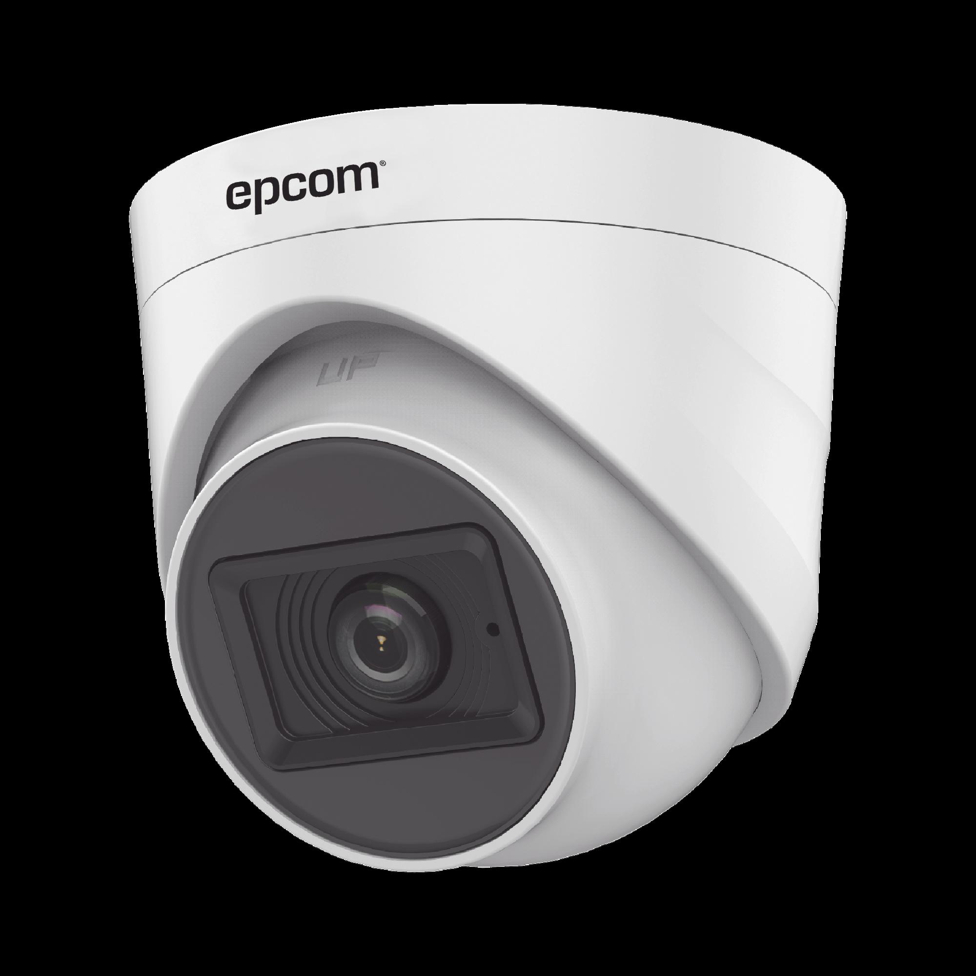 AUDIO POR COAXITRON / Domo TURBOHD 2 Megapixel (1080p) / Gran Angular 106? / Lente 2.8 mm / 20 mts IR EXIR / Interior / 4 Tecnologías / dWDR
