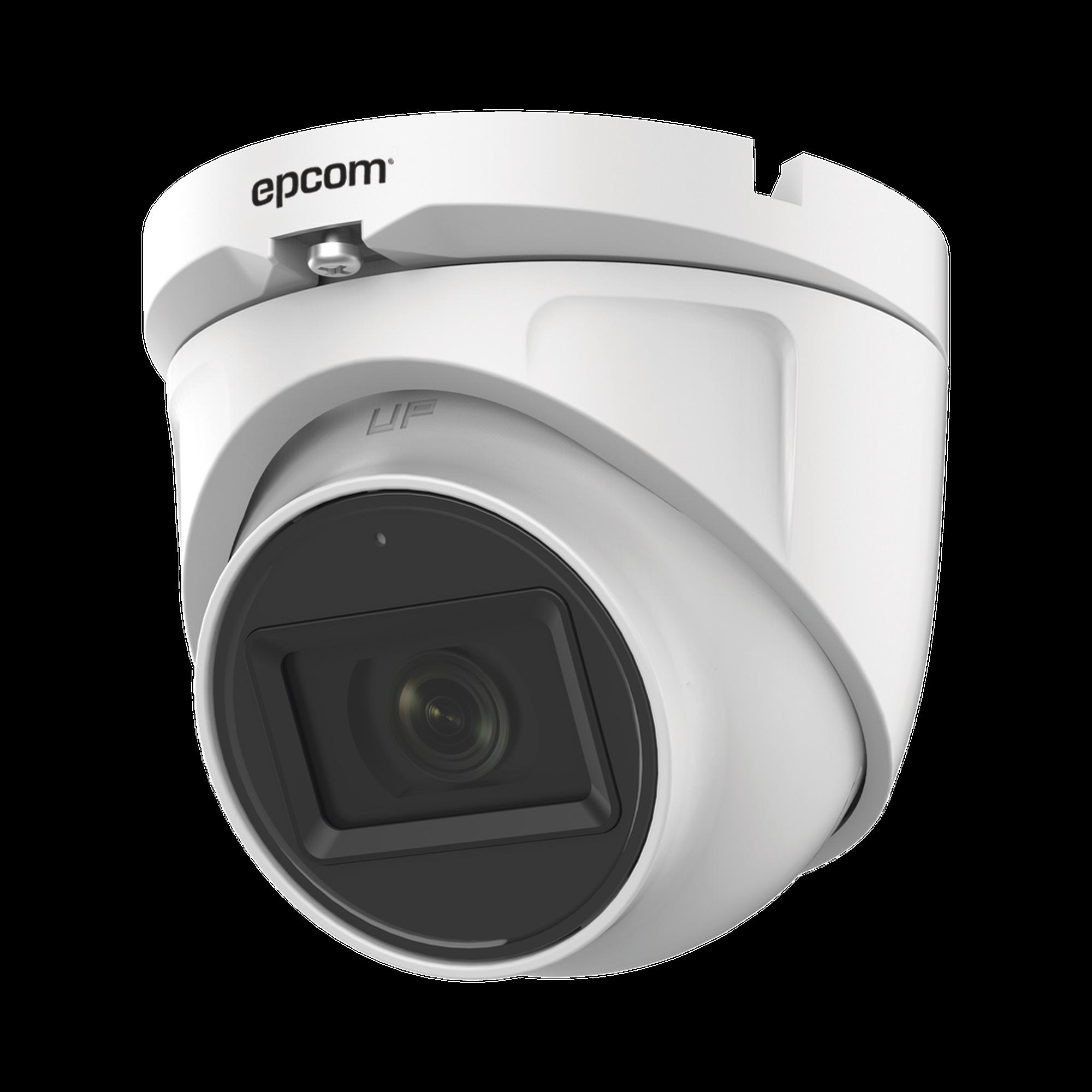 AUDIO POR COAXITRON / Domo TURBOHD 2 Megapixel (1080p) / Gran Angular 106? / Lente 2.8 mm / 30 mts IR EXIR / Exterior IP66 / 4 Tecnologías / dWDR
