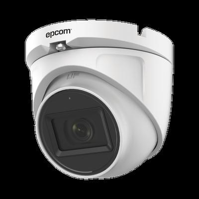 AUDIO POR COAXITRON / Domo TURBOHD 2 Megapixel (1080p) / Gran Angular 106° / Lente 2.8 mm / 30 mts IR EXIR / Exterior IP66 / 4 Tecnologías / dWDR
