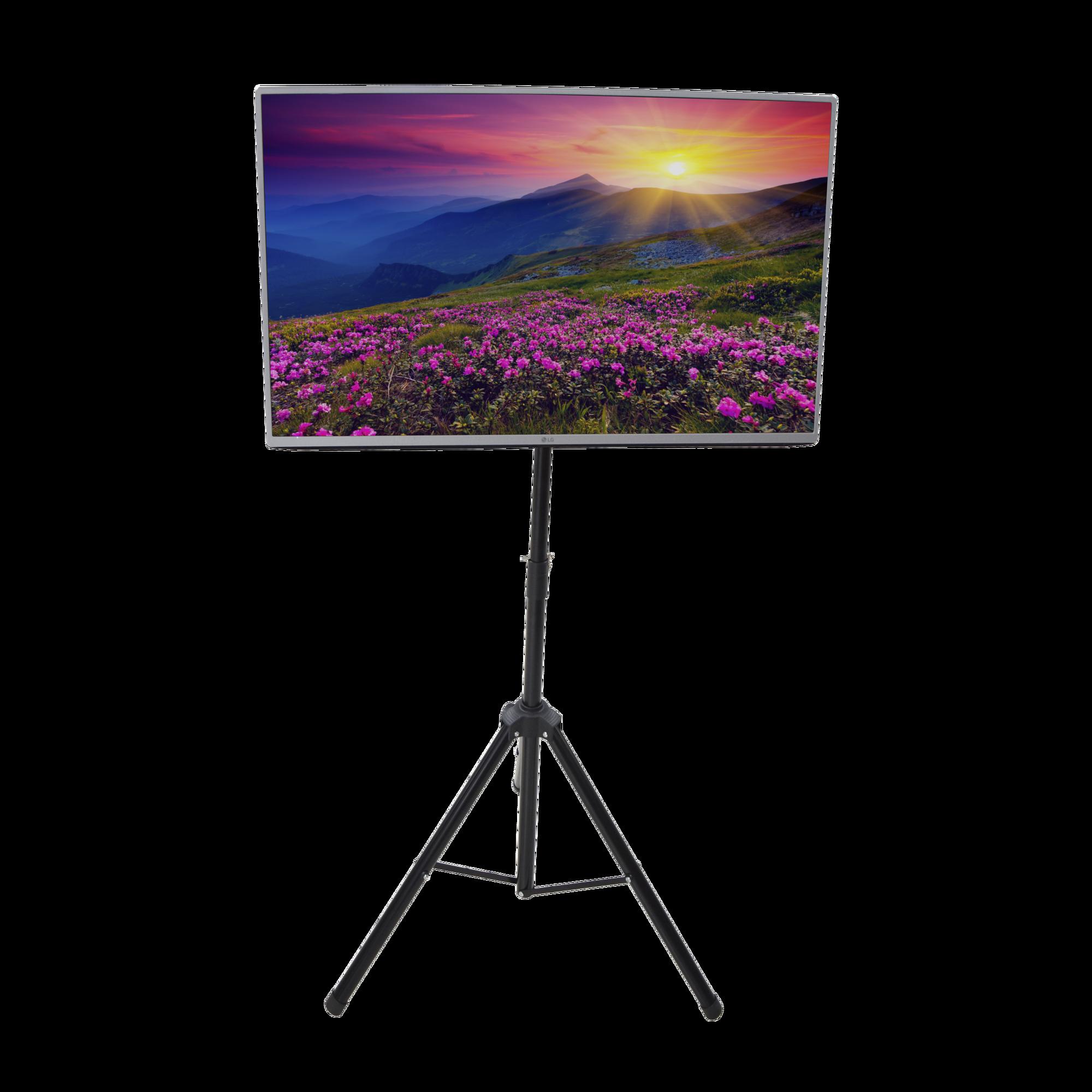 Trípode portátil soporte de piso TV compatible con montaje VESA para pantallas de 32-65