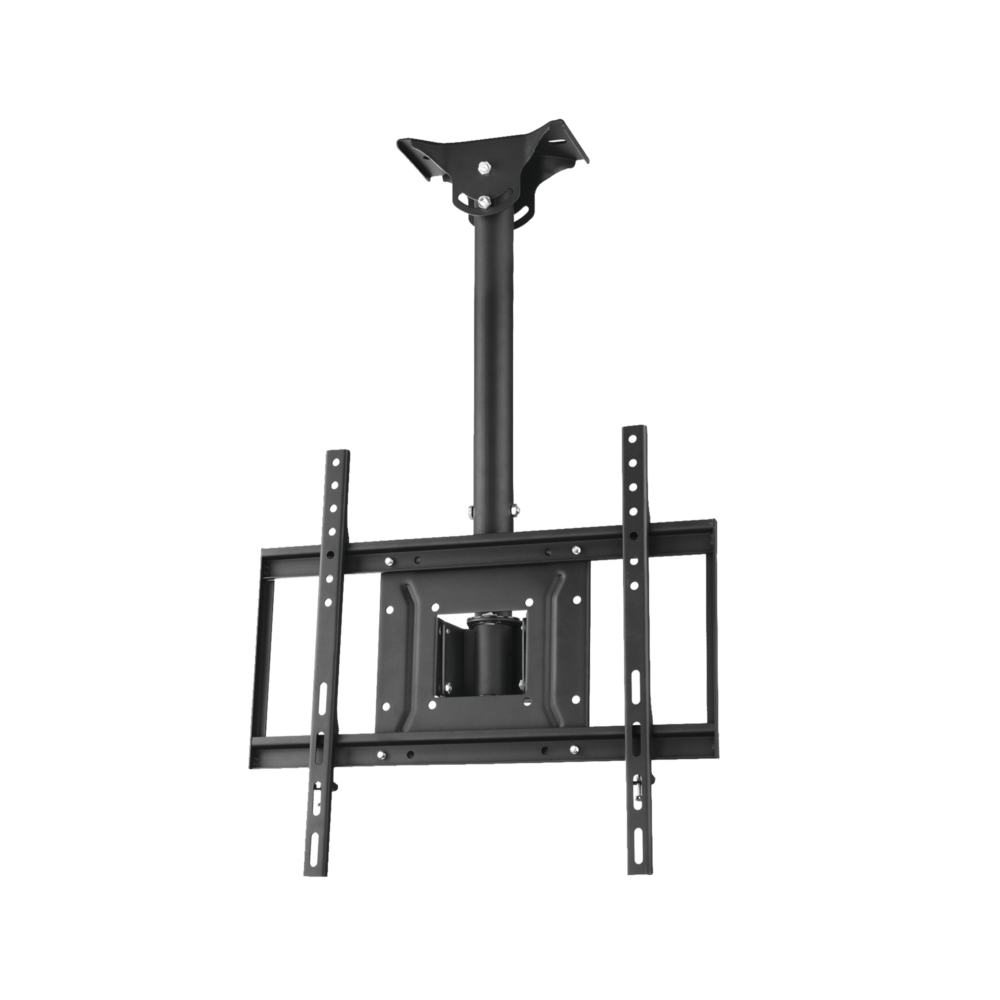 Montaje de techo universal para monitores de 23 a 47, carga maxima 40kg, Vesa 400x400.