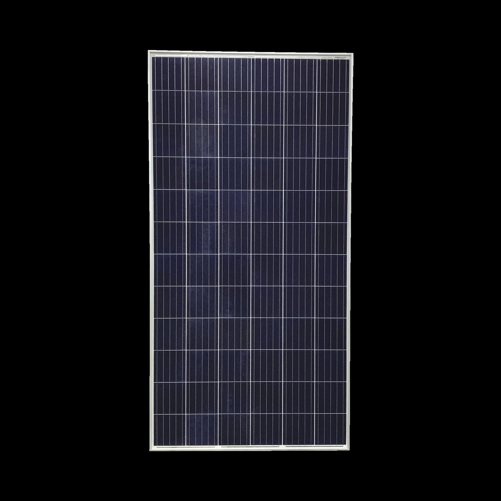 Modulo Solar de 330 W Policristalino grado A/ Para sistemas de interconexion con la red electrica y sistemas aislados en 24 Vcd.