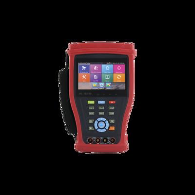 "Probador de Video Android con Pantalla LCD de 4.3"" para IP 4K / HD-TVI (8MP), HD-CVI (8MP), AHD (5MP) / Multímetro Digital, HDMI Entrada/ Salida, WiFi"