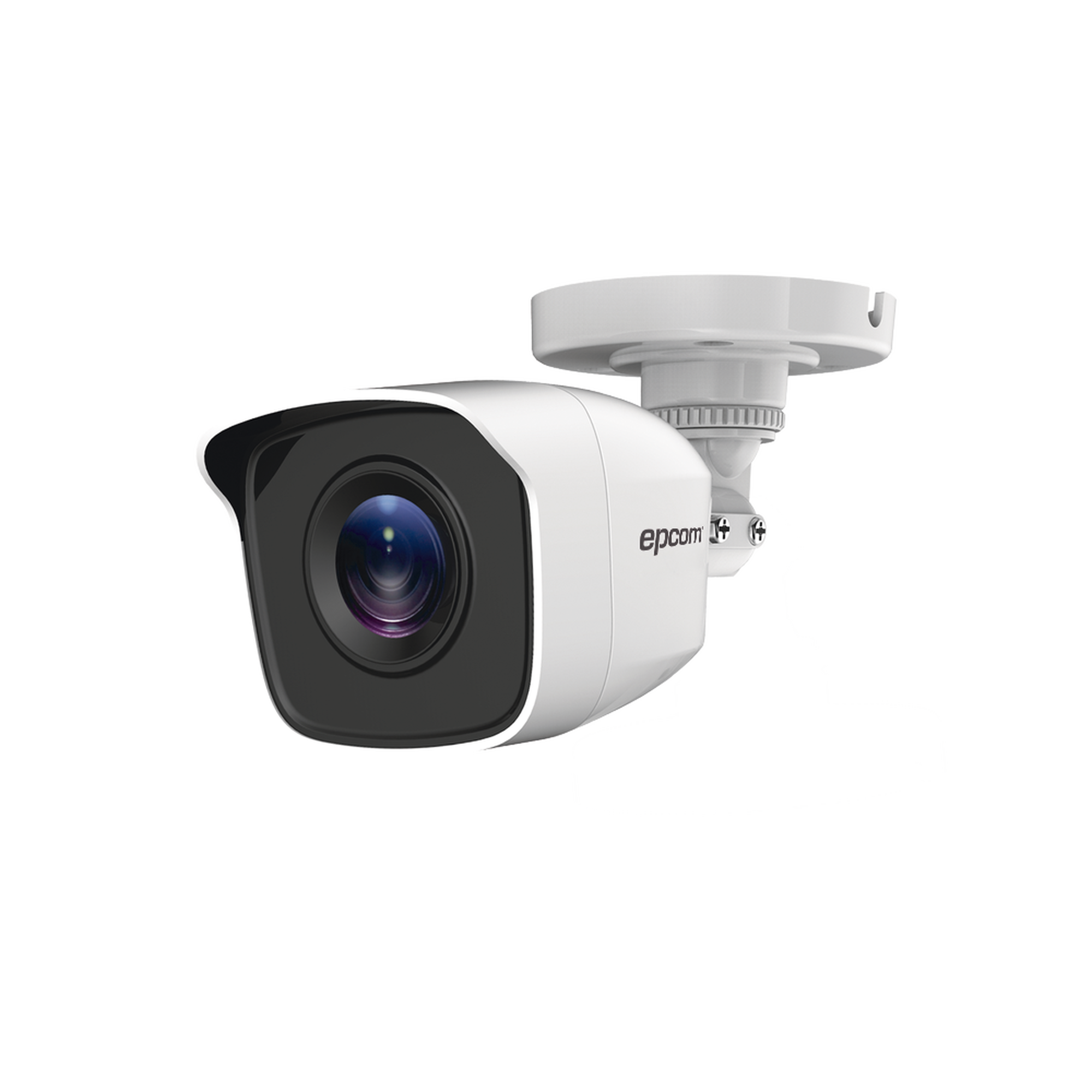 Bullet TURBOHD 720p / METáLICA / Gran Angular 92? / Lente 2.8 mm / IR EXIR Inteligente 20 mts / Exterior IP66 / 4 Tecnologías (TVI / AHD / CVI / CVBS)