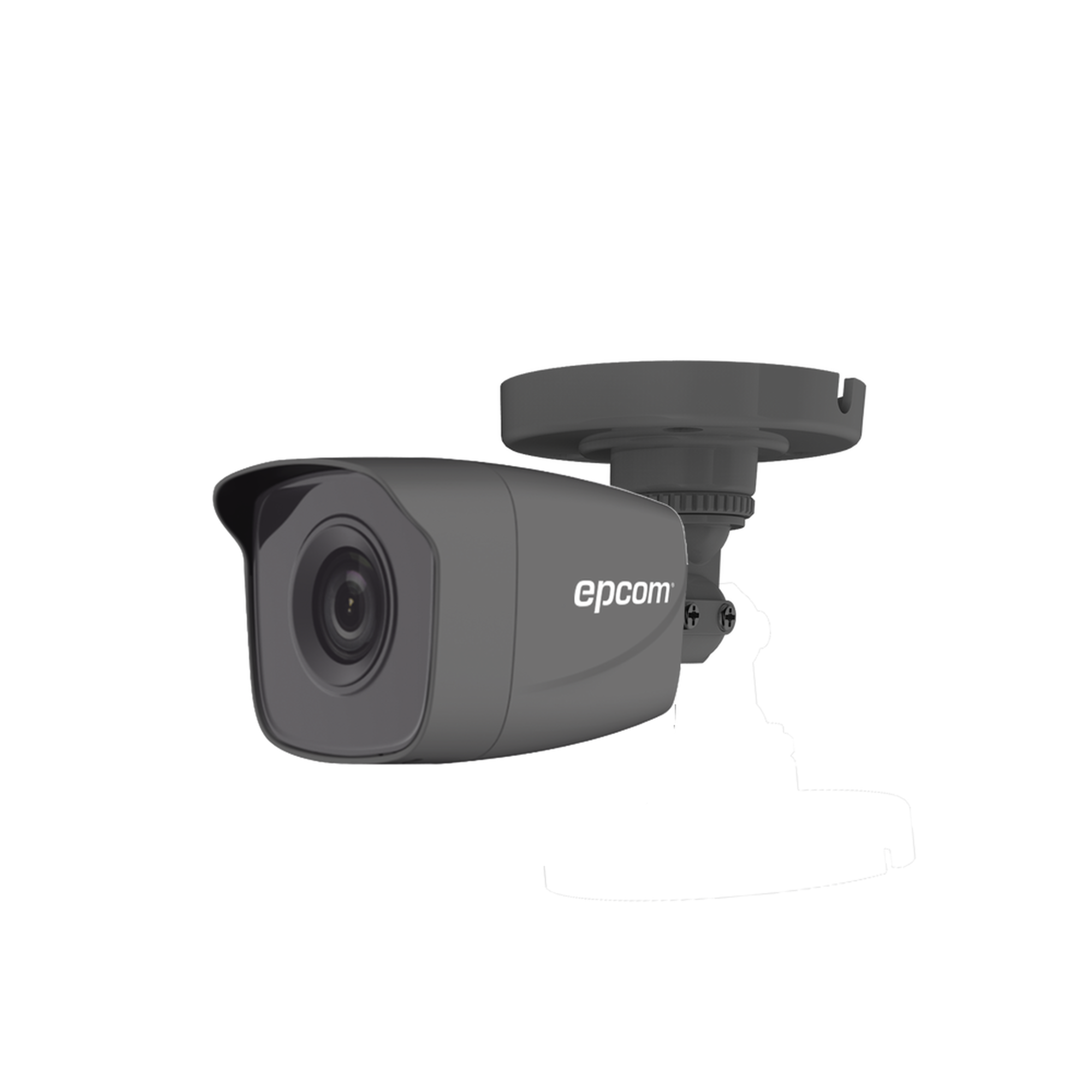Bala TURBOHD 720p / METáLICA / Gran Angular 92? / Lente 2.8 mm / IR EXIR Inteligente 20 mts / Exterior IP66 / 4 Tecnologías (TVI / AHD / CVI / CVBS)