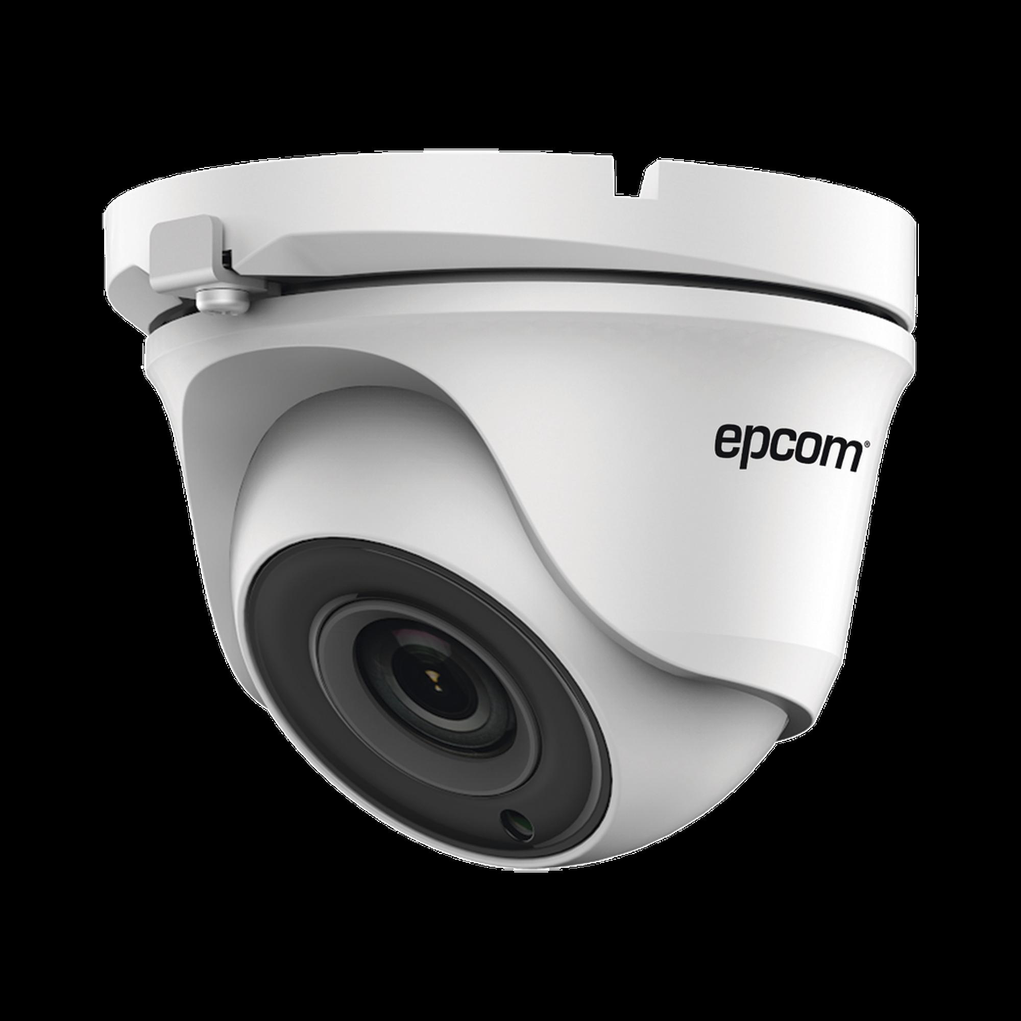Eyeball TURBOHD 720p / METALICA / Gran Angular 92? / Lente 2.8 mm / IR Inteligente 20 mts / Exterior IP66 / TVI-AHD-CVI-CVBS / dWDR