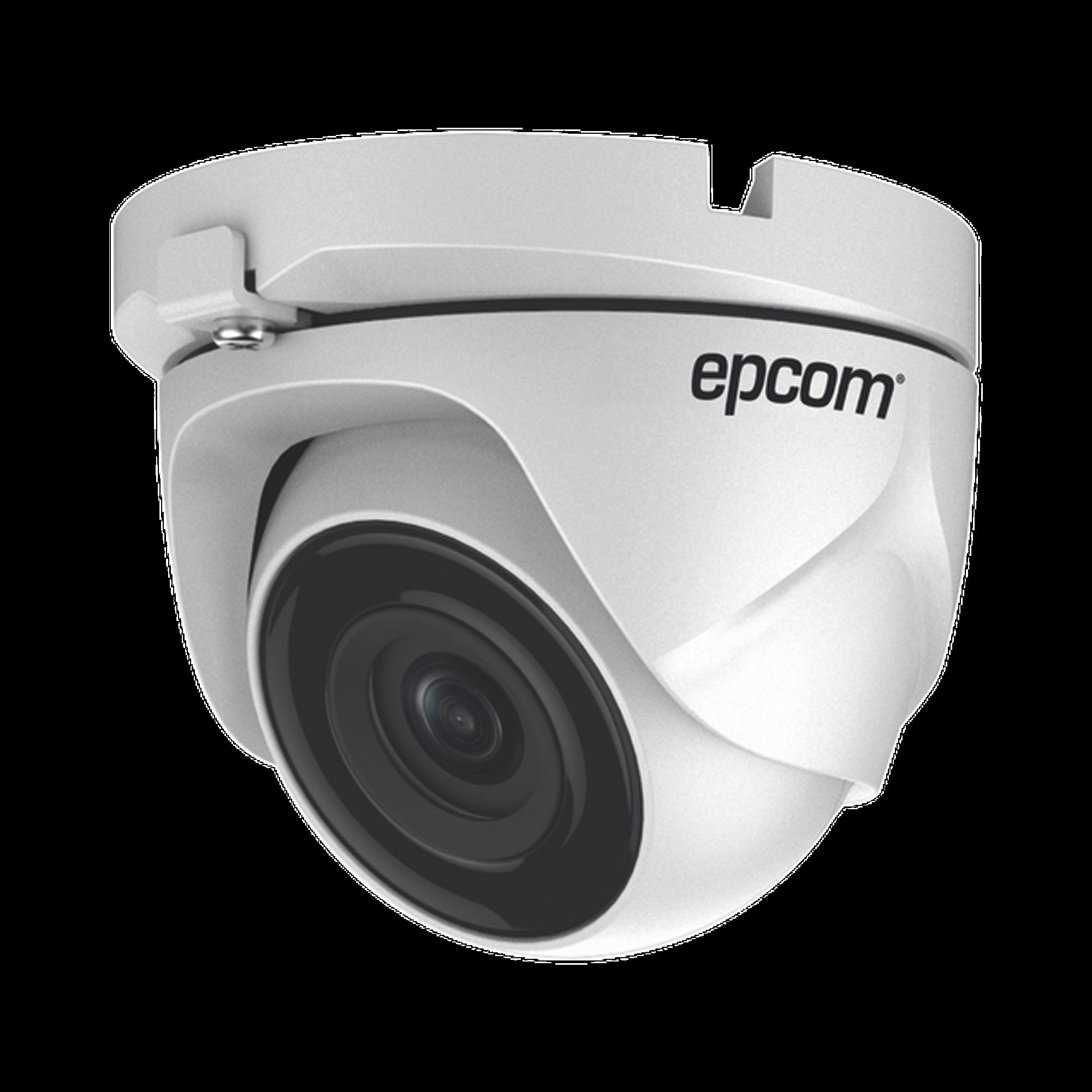 Eyeball TURBOHD 1 Megapixel (720p) / METALICA / Gran Angular 92? / Lente 2.8 mm / IR Inteligente 20 mts / Exterior IP66 / TVI-AHD-CVI-CVBS / dWDR