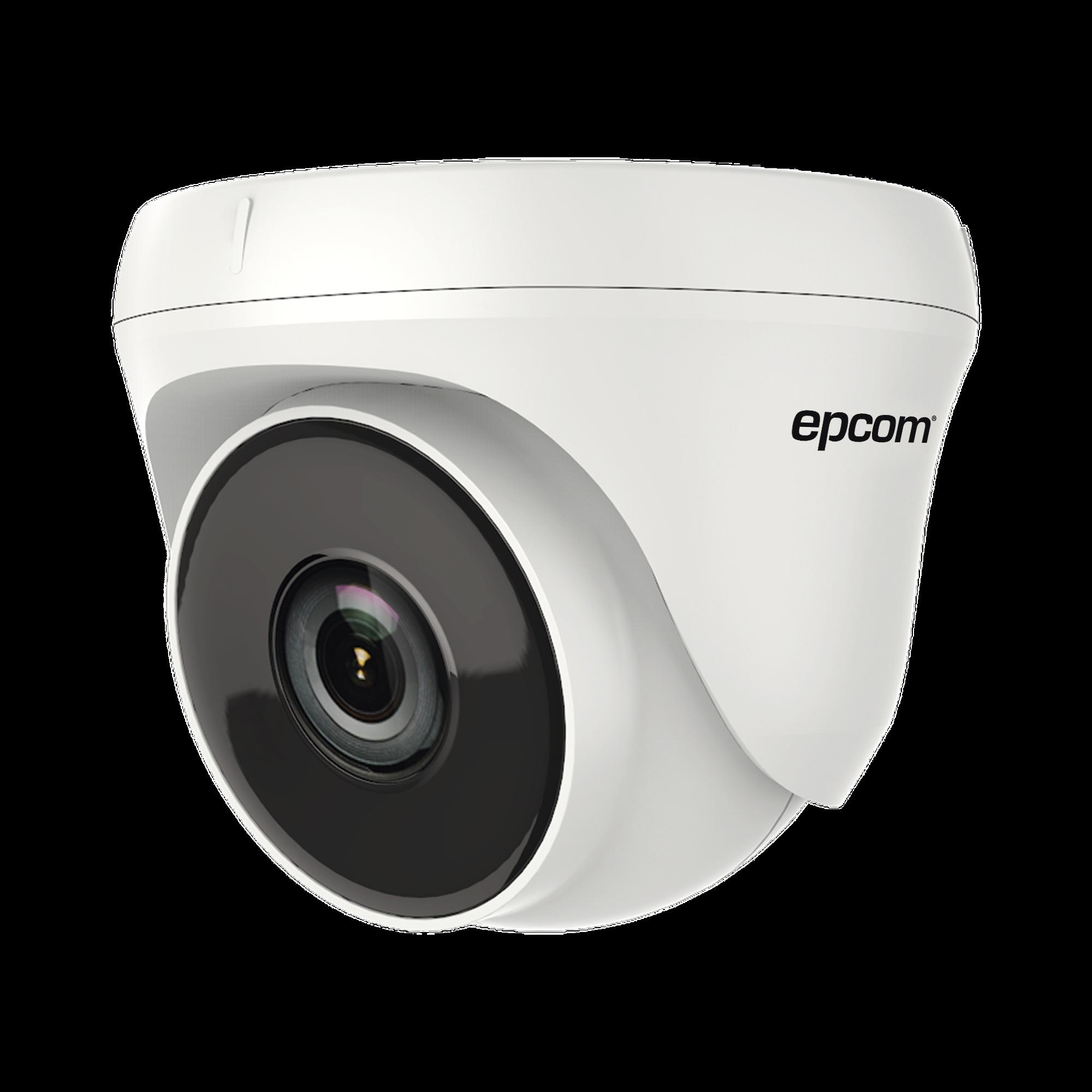Eyeball TURBOHD 720p / Gran Angular 92? / Lente 2.8 mm / IR EXIR Inteligente 20 mts / Interior / TVI-AHD-CVI-CVBS / dWDR