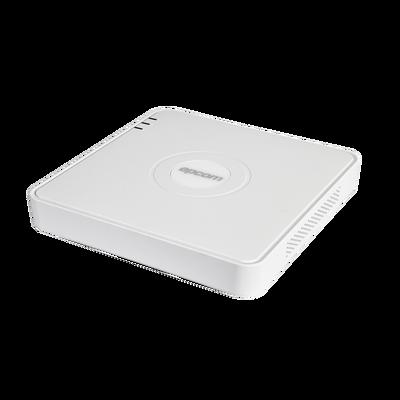 (AUDIO POR COAXITRON) DVR 2 Megapixel (1080p) Lite / 16 Canales TURBOHD + 2 canales IP / 1 Bahía de Disco Duro / 16 Canales de Audio por Coaxitron  / Salida de vídeo Full HD