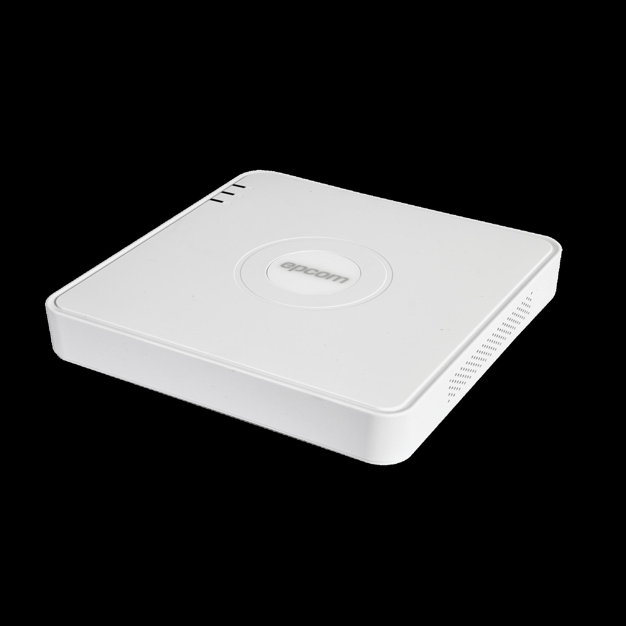 DVR 1080p Lite / 16 Canales TURBOHD + 2 canales IP / 1 Bahía de Disco Duro / H.264+ / 1 Canal de Audio / Salida de vídeo Full HD
