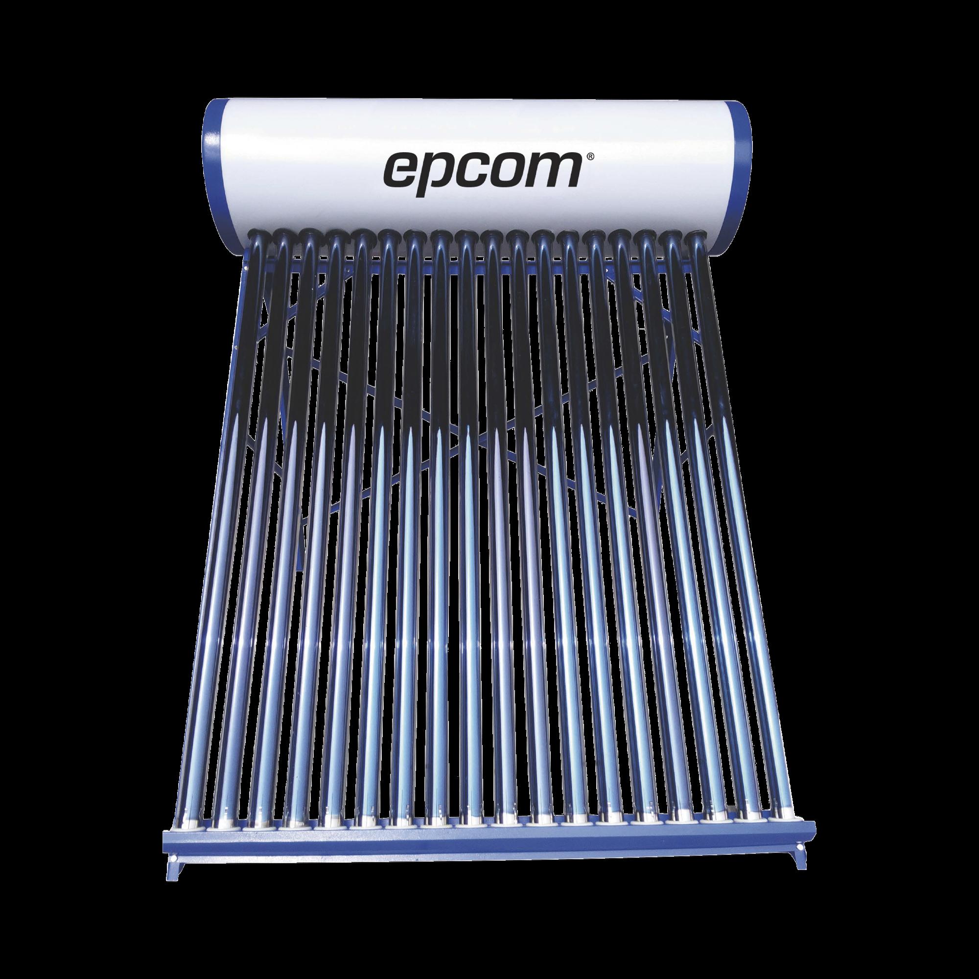 Bóiler Solar de Baja Presión con 18 Tubos de Vacío de 180 L Resistentes a Granizo de Hasta 25 mm/ l, Incluye Anodo de Magnesio