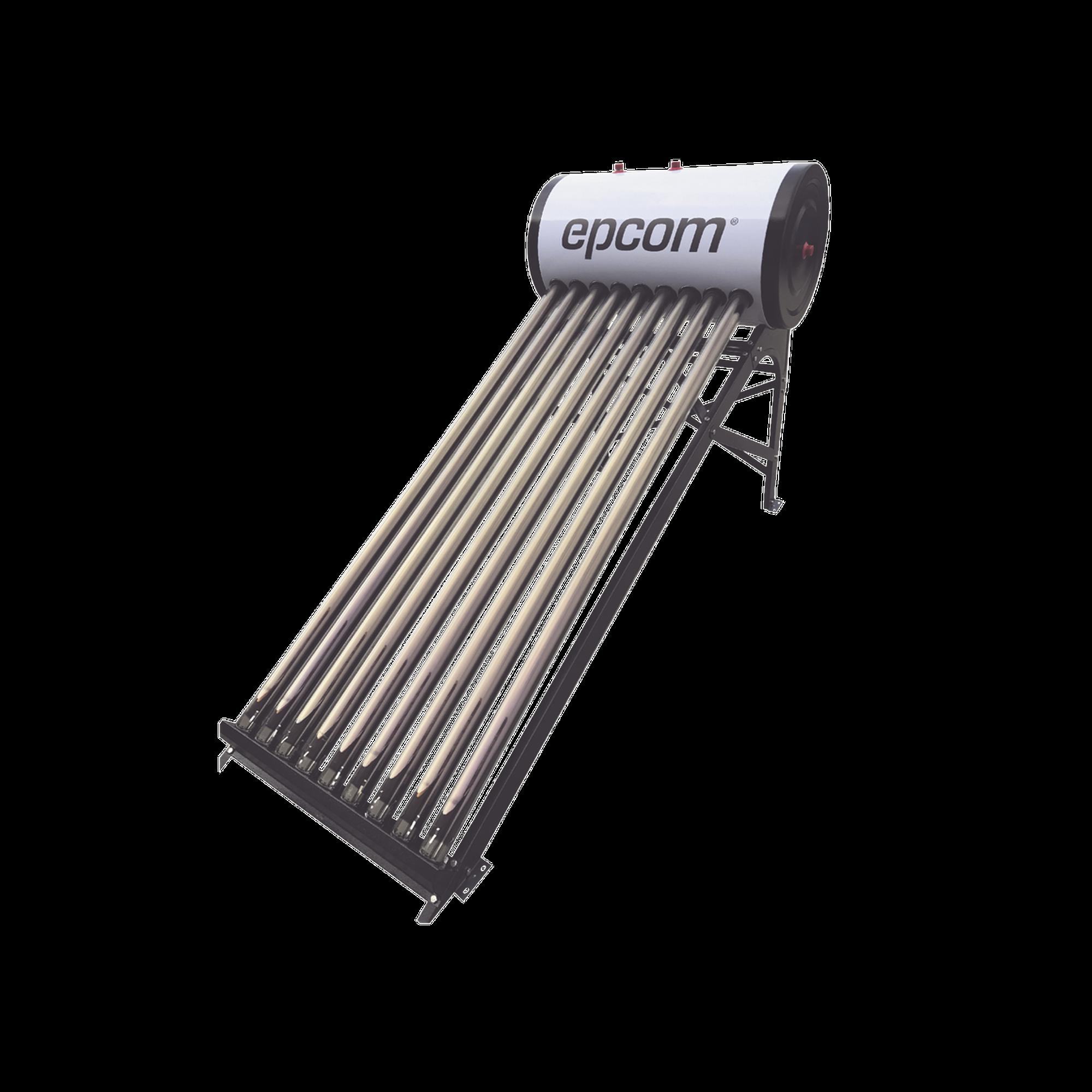 Bóiler Solar de Baja Presión con 9 Tubos de Vacío de 90 L, Resistentes a Granizo de Hasta 25 mm/ l , Incluye Anodo de Magnesio