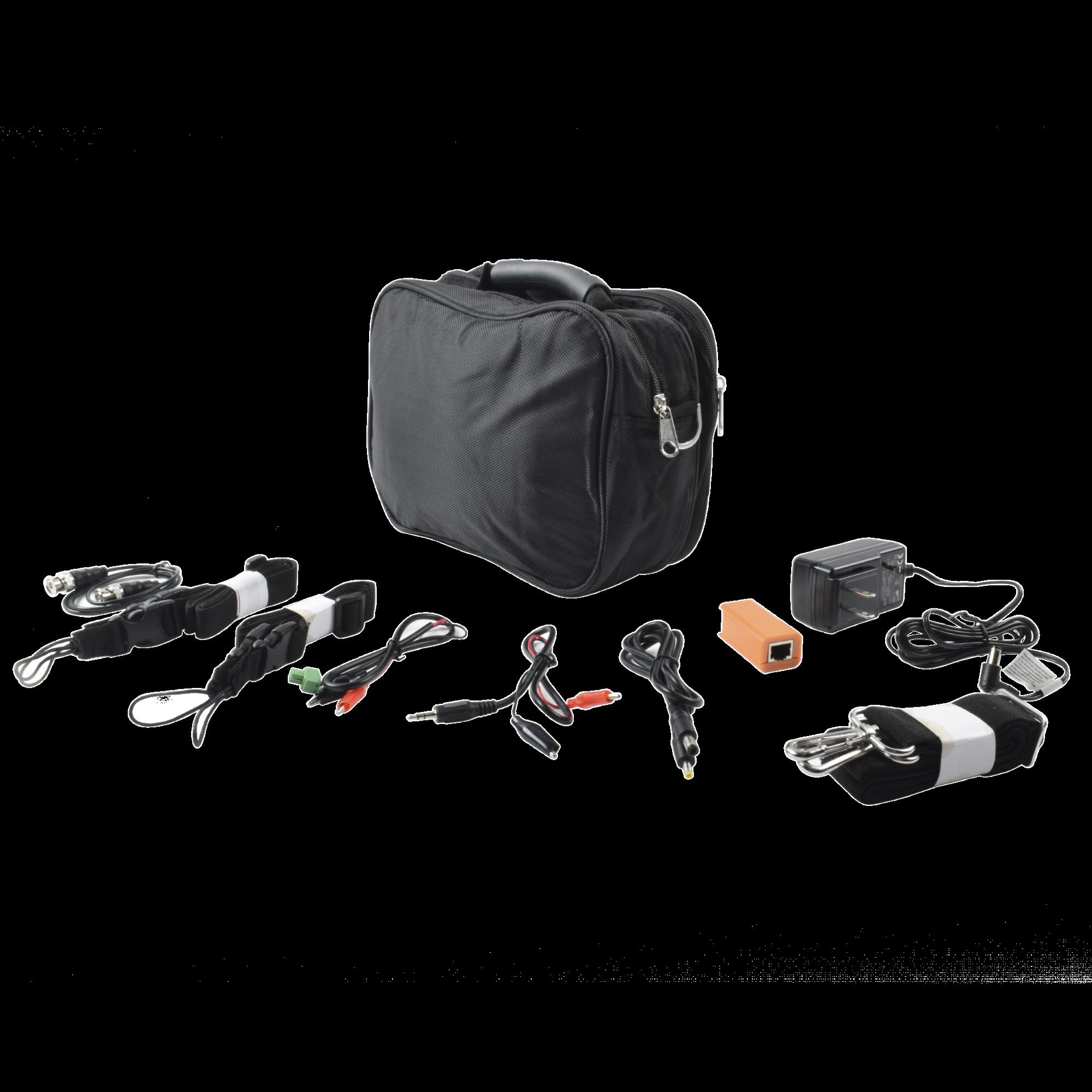 Kit de accesorios para probadores de video TPTURBO5MP,TPTURBO8MP, TPTURBOHD