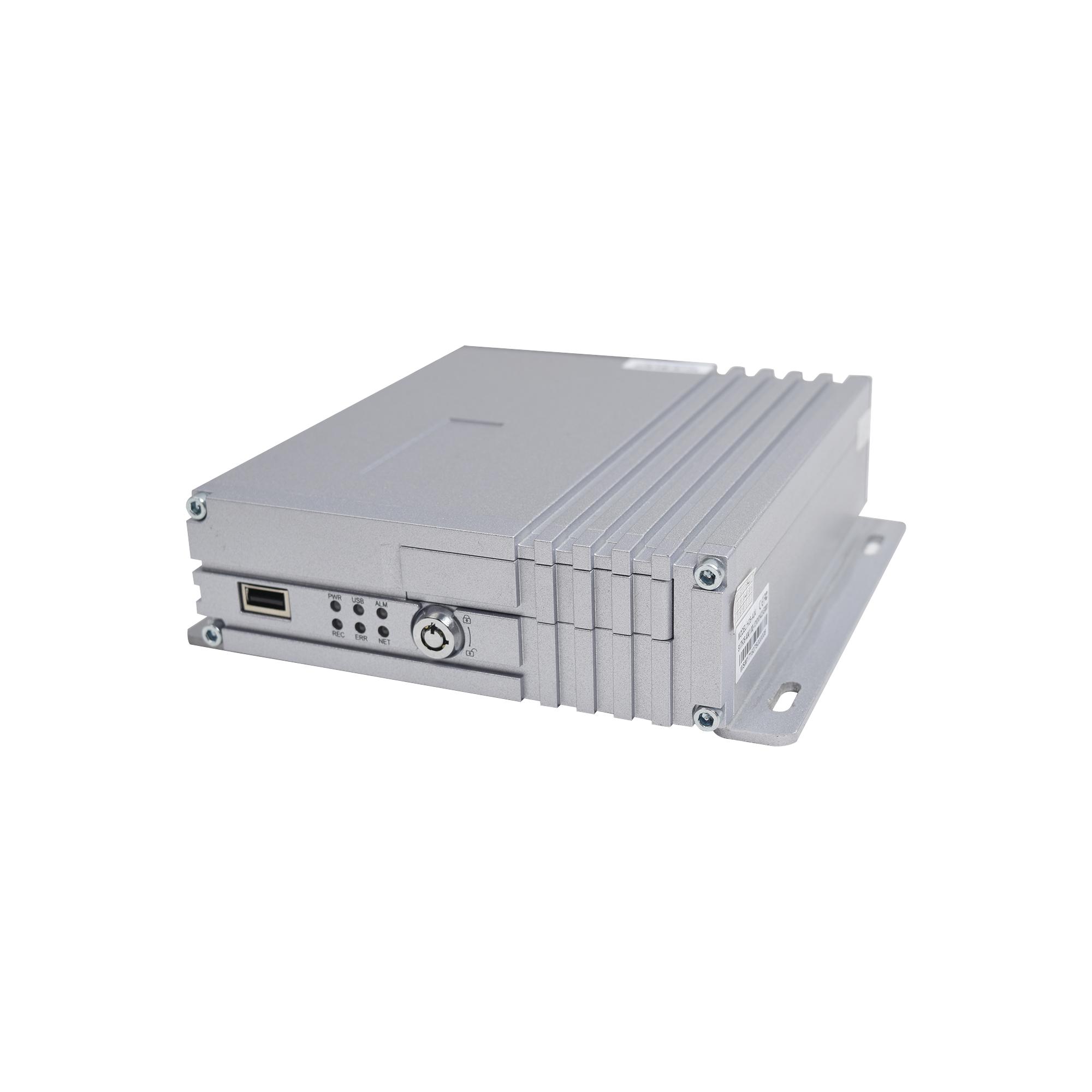 DVR movil / almacenamiento en memoria SD / 4 canales AHD hasta 2MP / compresion de video H.264