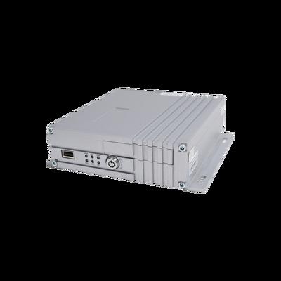 DVR móvil / almacenamiento en memoria SD / 4 canales AHD hasta 2MP / compresión de vídeo H.264