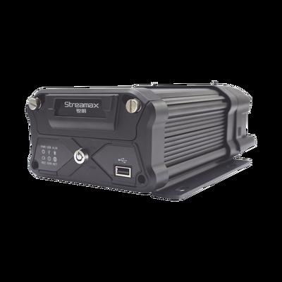 MDVR móvil híbrido, especial para adaptar dos sensores de conteo de personas, soporta 6 canales AHD hasta 2MP + 2 canales IP