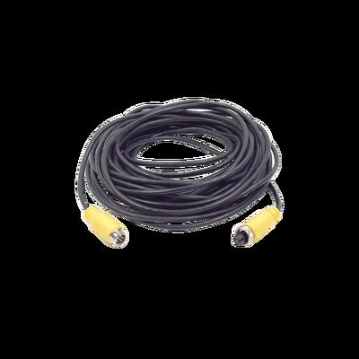 Cable extensor con conector tipo aviación de 15m para soluciones de videovigilancia móvil xmr para soluciones IP