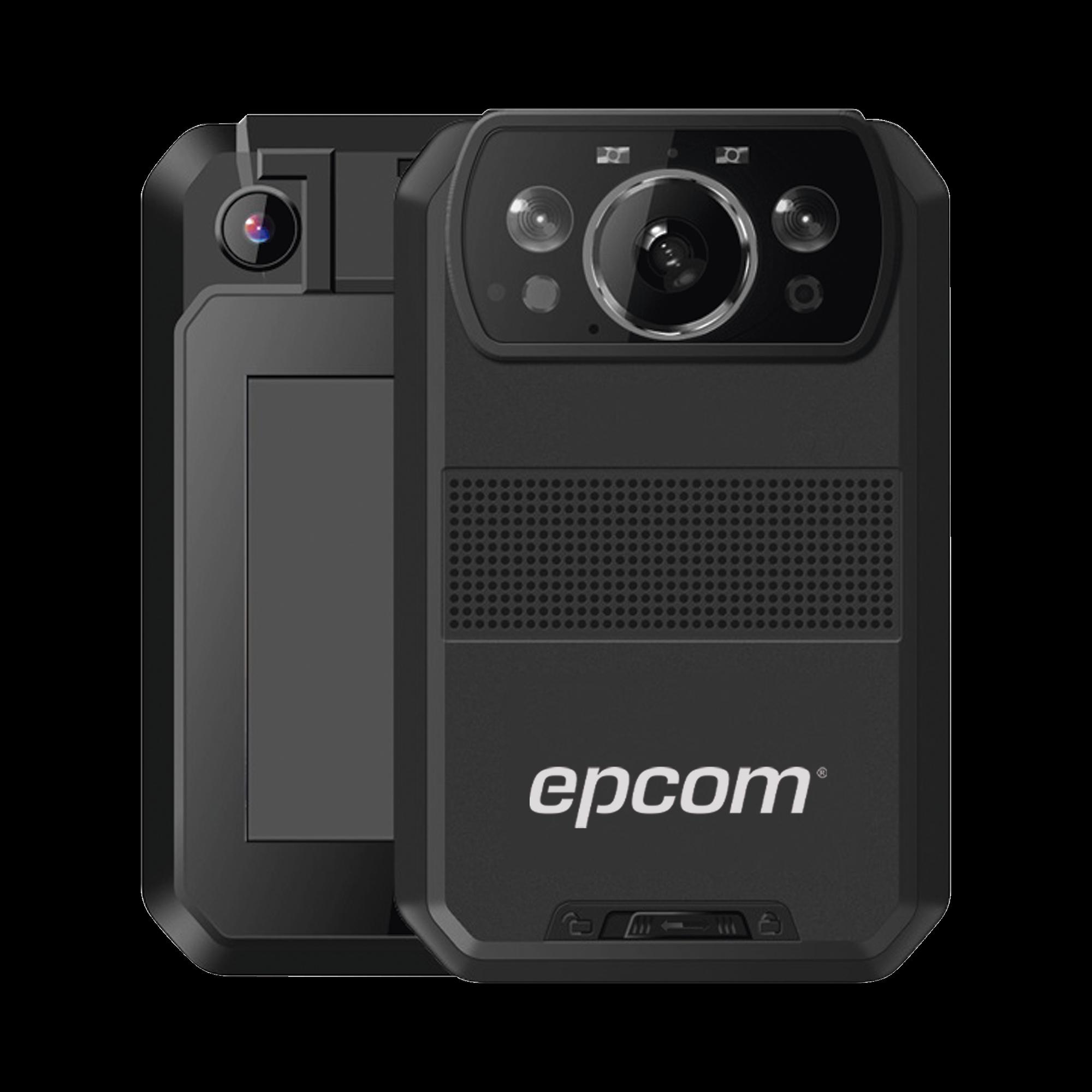 Body Camera para Seguridad, Video 4K, GPS Interconstruido, Conexion 4G-LTE, WiFi, Bluetooth, Sistema basado en Android